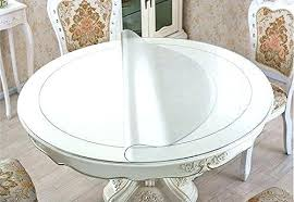 thick clear plastic table protector clear plastic table cover thick round table protector round dining tabletop thick clear plastic