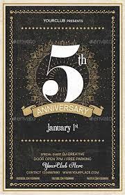 Anniversary Flyer Psd Template Elegant Psd Flyer Ffflyer