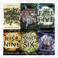 lorien legacies series pittacus lore collection 6 books bundle i am number four the power of six the rise of nine the fall of five the revenge of seven