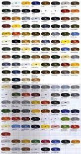 7 Best Auto Paint Color Charts Images Paint Color Chart