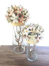 Paper Flower Centerpieces At Wedding Centerpiece Of Paper Flowers For Wedding Or Event Paper