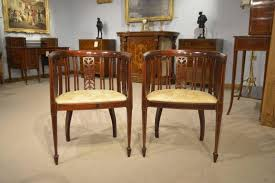 edwardian mahogany bedroom furniture. pair of mahogany inlaid edwardian period antique bedroom chairs 2 furniture n