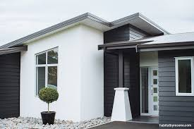 Modern Exterior Design Ideas. Grey Brick HousesWhite ...