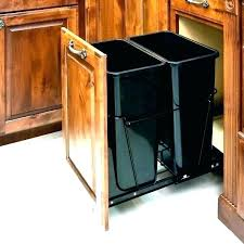 outdoor trash can storage ideas garbage outside indoor