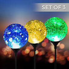in ground lighting. It Arrives In An Arrangement Of Three, And They Have Different Hues. These Hues Give The User Sound Lighting Impacts. Are Made Glass Classic Ground I