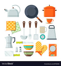 kitchen tools vector. Wonderful Tools Kitchen Tools For Cooking Cartoon Vector Image On Tools Vector N