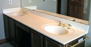 cultured marble countertops vanity top cleaning price bathroom