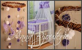 Dream Catcher Baby Bedding Purple Dream Nursery Bаbу Mobile Crib Decor Mobiles Bedding Dream 44
