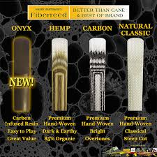 Harry Hartmann Reeds Strength Chart Fiberreed Carbon Classic Premium Synthetic Reed
