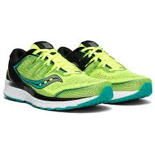 Saucony Pronation Chart Saucony Guide Iso 2 Running Shoes Citron Black 9 5 Us