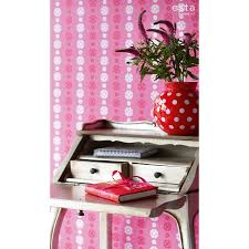Kinderbehang Retro Behang Roze