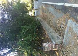 ideas to hide retaining wall