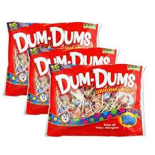 Dum Dums - <b>180</b> count <b>bag</b> packed 3s