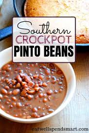 And mama didn't call these we grew up eating these pinto beans at almost every meal. Crockpot Pinto Beans Eat Well Spend Smart