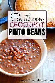 crockpot pinto beans eat well spend smart