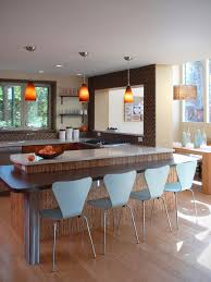 eat in kitchen furniture. inspiration for a contemporary eatin kitchen remodel in other with brown backsplash eat furniture