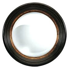 black and gold mirror black and gold wall mirror oversize manning black gold convex round mirror