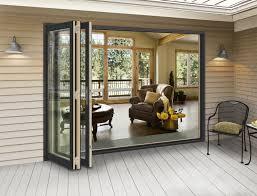 folding exterior patio doors