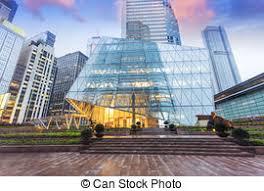 modern office exterior. Modern Office Building Exterior Of Urban City