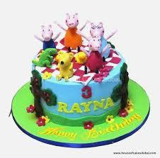 Peppa Pig Birthday Cake Pics Amazingbirthdaycakesga