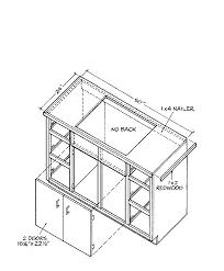 Kitchen Cabinet Plans Ana White 36 Sink Base Momplevanilla Diy