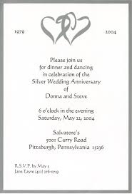 Wedding Invitation Wording: Surprise 25th Wedding Anniversary ...