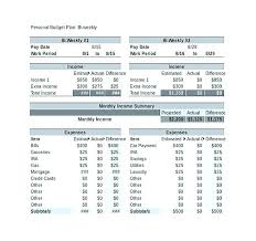 How To Plan A Personal Budget Personal Financial Plan Template Excel Personal Budget Plan Template