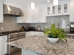 stone tile kitchen countertops. Grey Quartz Kitchen Countertop With Ceramic Tile Backsplash 8895 Stone Countertops Z