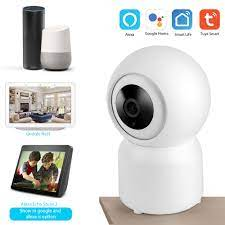 Camera IP Wifi Tuya (1080p, xoay 360°) - Hỗ trợ Google Home & Alexa
