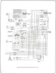 electrical diagrams chevy only page 2 truck forum 81 87 instrument panel page 1