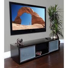 Plateau SR 65Inch Black Oak TV Stand Black 65 Inch Tv Stand16
