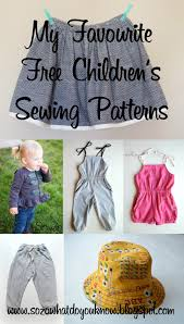 Childrens Sewing Patterns Free Unique Decoration