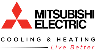 mitsubishi electric cooling and heating logo. mitsubishi hvac heating \u0026 cooling systems. electric and logo