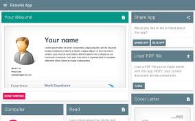 Resume App Free Custom Free Resume App Android Apps On Google Play Free Resume Apps