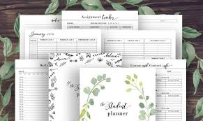 College Academic Planners 10 Stylish Academic Planners To Make You Back To School Ready
