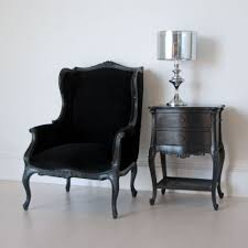 Wingback Chair Wingback Chair In Black