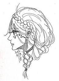 イラスト 女の子 横顔 花の画像1点完全無料画像検索のプリ画像bygmo