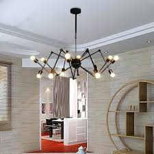 canada lighting experts reviews modern suspension led pendant lights round shape loft industrial spider with 6 8 heads satellite lamps