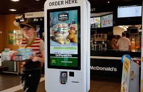 Mcdonalds Vending Machine Interesting Fujitsu Australia On Twitter If You Visit A McDonald's Restaurant