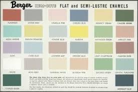 Berger Paint Chart 92 758 Paint Colour Chart Berger Kem Cote Paint Paper