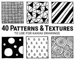 How To Draw Patterns Delectable Patterns Archives Kawaii Drawings