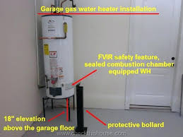 garage gas heaters elevation of the garage gas water heater above the floor is not required garage gas heaters
