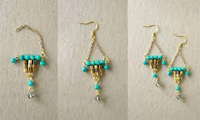 how to make chandelier earrings beaded chandelier earrings loft earring diamond chandelier earrings