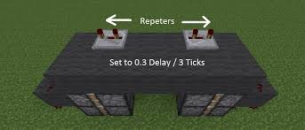 minecraft door. You Can Set The Repeaters To A 0.4 Second Delay If Bottom Two Pistons Don\u0027t Go Back. Minecraft Door