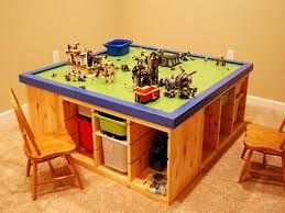wooden lego table wooden kids table storage optimizing home decor ideas and chairs wooden tab large wooden lego table