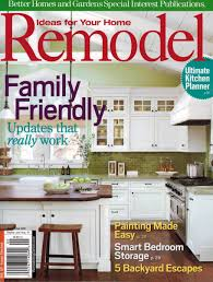Better Homes And Garden Kitchens Featured In Remodel Magazine A Better Homes And Gardens Special