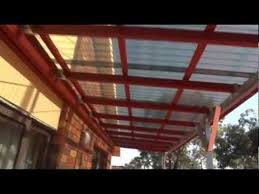 corrugated plastic roofing you