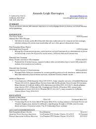 Resume Education Harrington University Resume For Study