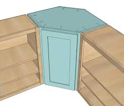 wall kitchen corner cabinet free plans