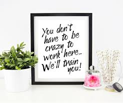 inspirational frames for office. Cubicle Decor Printable Office Wall Art Funny Signs For Reception Il Fullxfull: Full Size Inspirational Frames